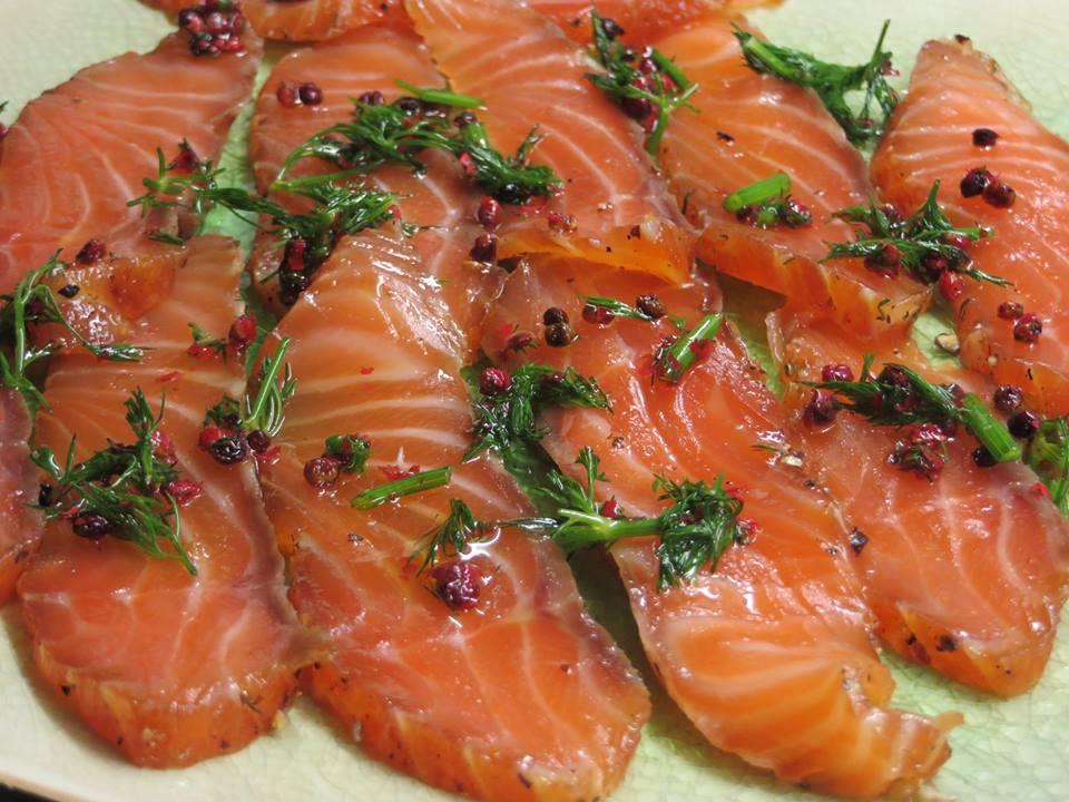 cách làm món salad cá hồi 2