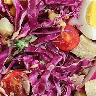 cách làm salad bắp cải giảm cân 1