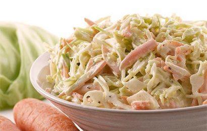 Cách làm salad bắp cải giống lotteria ngon