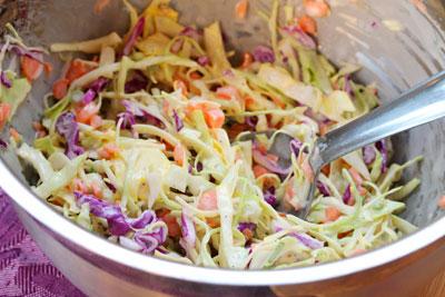 cách làm salad bắp cải tím trộn mayonnaise 1
