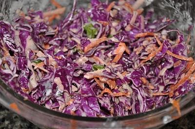 cách làm salad bắp cải tím trộn mayonnaise 2