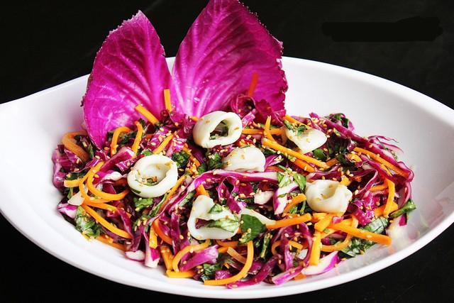 cách làm salad bắp cải tím trộn mayonnaise 3