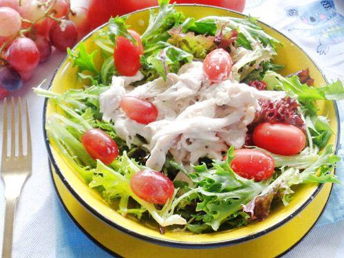 cách làm salad cá ngừ sốt mayonnaise 1