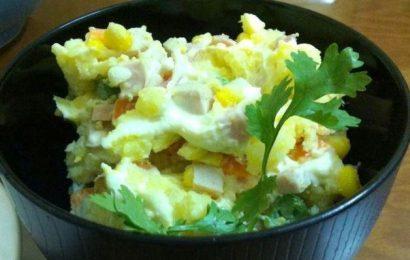 Học ngay cách làm salad khoai tây kiểu nhật cực ngon