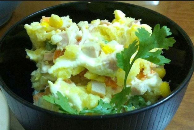 cách làm salad khoai tây kiểu nhật 2
