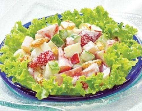 cách làm salad nga ngon đơn giản 2