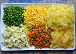 cách làm salad nga rau củ 2