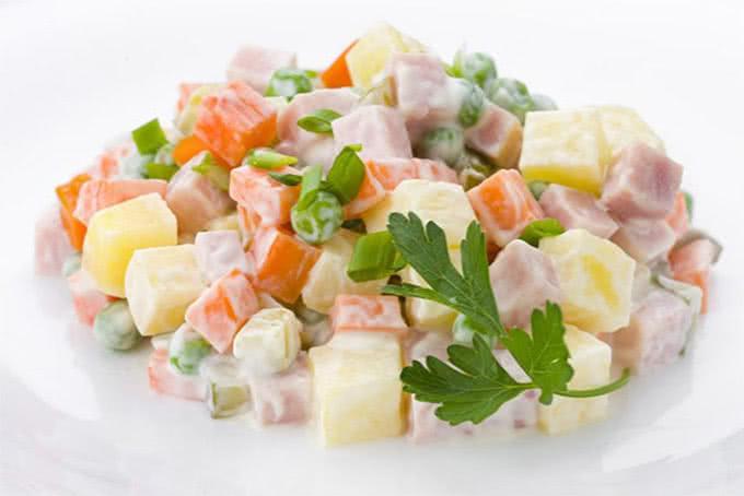 cách làm salad nga truyền thống 1