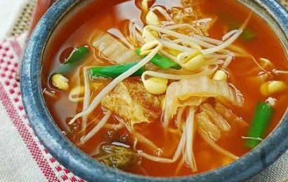 Cách nấu canh giá đỗ Hàn Quốc mới, ngon, lạ miệng