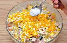 Những nguyên liệu làm salad Nga ngon tại nhà