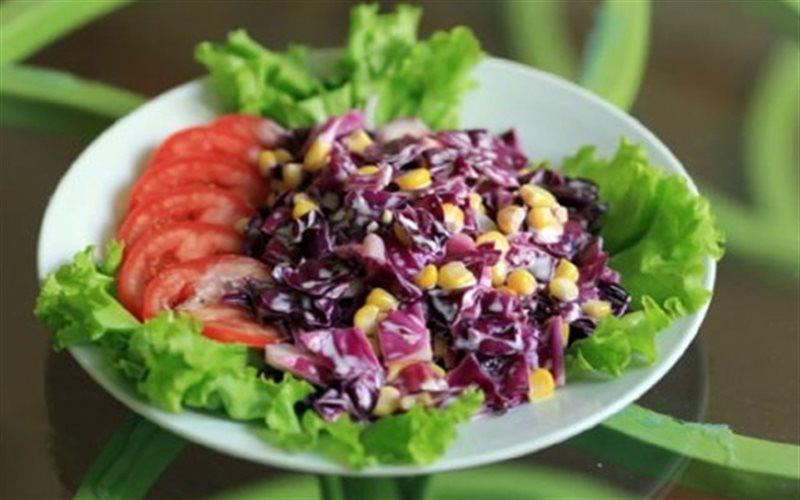 Bật mí cách làm salad bắp cải tím giảm cân hiệu quả nhất