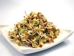 Bật mí cách làm salad cá hồi rau mầm ngon như ngoài tiệm