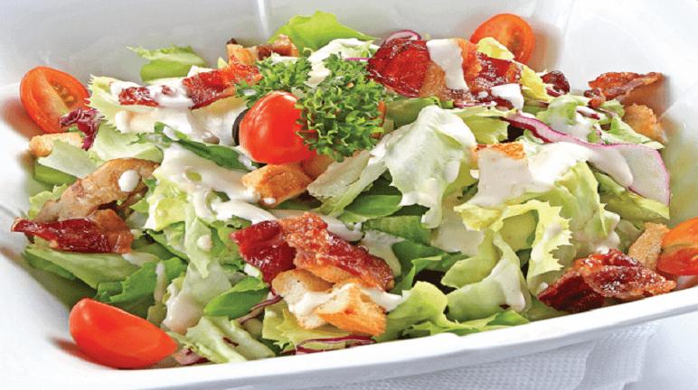 salad dưa chuột cà chua sốt mayonnaise 1