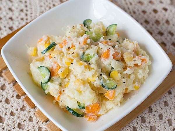 salad khoai tây cà rốt 3