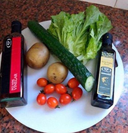 salad khoai tây giảm cân 1