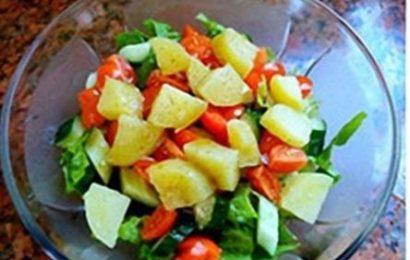 Tiết lộ bí quyết làm salad khoai tây giảm cân cho phái đẹp