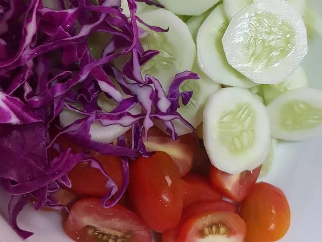 salad trộn dầu giấm giảm cân 1
