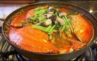 Cách nấu lẩu cua biển hải sản ăn là nghiền