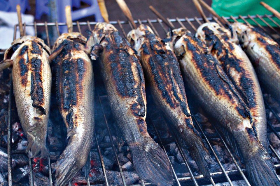 cá lóc nướng mỡ hành 2