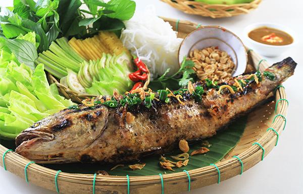 cá lóc nướng mỡ hành 3