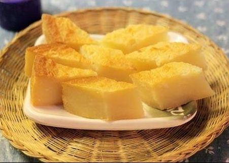 cách làm bánh khoai mì nướng không cần lò nướng 2