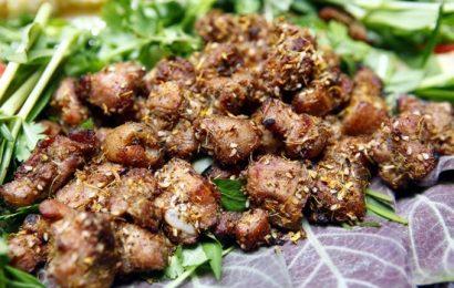 Cách làm món thịt lợn nướng riềng mẻ ngon chuẩn vị nhất