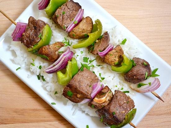 bí quyết ướp thịt bò xiên nướng