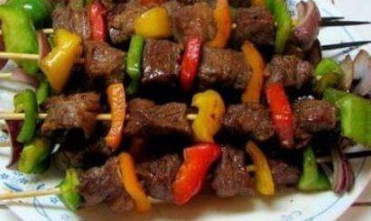 Bật mí cách làm thịt nướng xiên que rau củ cực ngon