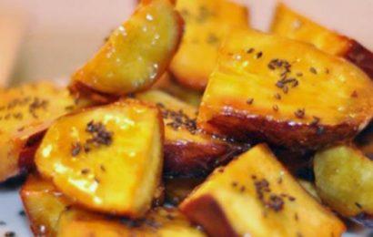 2 cách nướng khoai lang bằng lò nướng ngọt thơm ngon