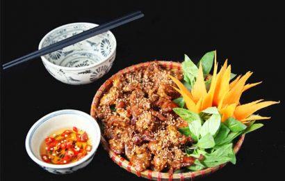 Cách làm món thịt dải nướng thơm ngon cho mọi nhà
