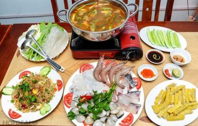 Bật mí cho bạn ăn lẩu hải sản chua cay ăn với rau gì và cách chế biến thật ngon