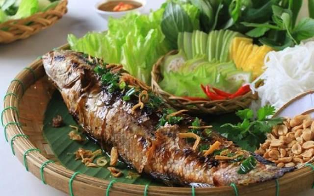 nướng cá lóc bằng lò nướng 3