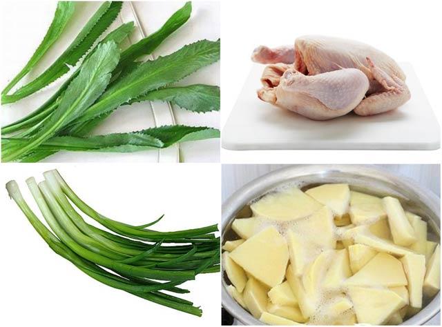 cách nấu măng gà ngon