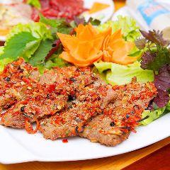 Cách làm bò nướng muối ớt thơm thơm cay cay như nhà hàng