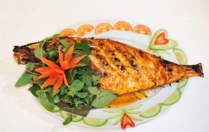 Cá da bò nướng muối ớt thơm ngon đậm đà cho thời tiết mùa Đông