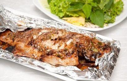 Thêm món cá bò nướng cho bữa tiệc nướng của gia đình bạn