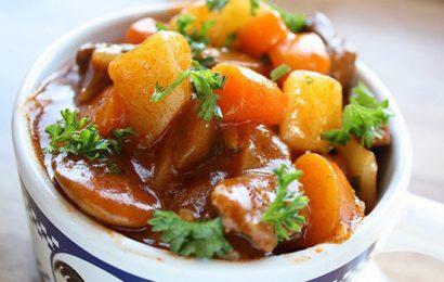 Hướng dẫn cách nấu gân bò hầm khoai tây đơn giản nhất tại nhà