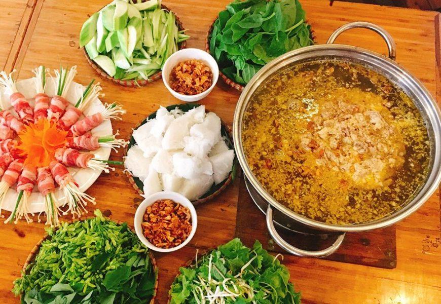 Cách nấu lẩu cua đồng miền Bắc cho bữa ăn tròn vị