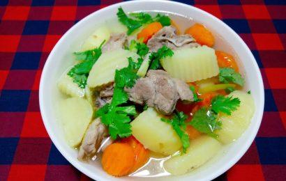 Bật mí cách nấu món xương hầm khoai tây ngon