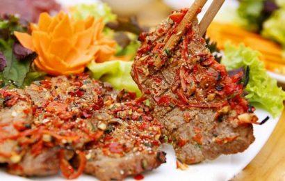 Thịt heo nướng muối ớt hương vị cay mặn không thể chối từ