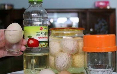 Học cách ngâm rượu nếp với trứng gà tốt cho sức khỏe