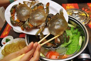 Cách nấu lẩu cua biển ngon nhất1