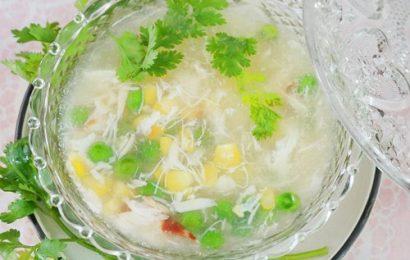 Mách nhỏ cách nấu súp cua thơm ngon để bán đắt như tôm cua tươi