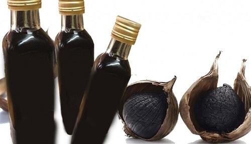 cách sử dụng tỏi đen ngâm rượu 2