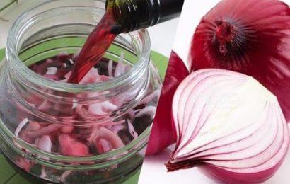 Tác dụng thần kì của hành tây ngâm rượu vang đỏ