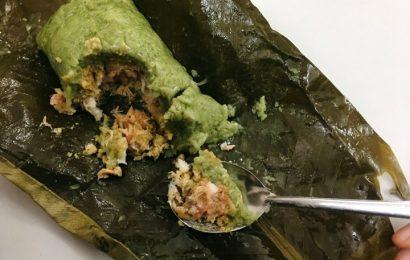 Học làm món bánh chưng gù – đặc sản Hà Giang