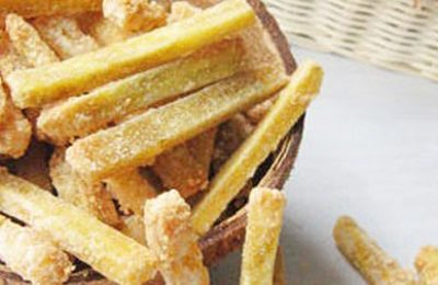Cách làm mứt khoai lang siêu đơn giản rộn ràng đón Tết