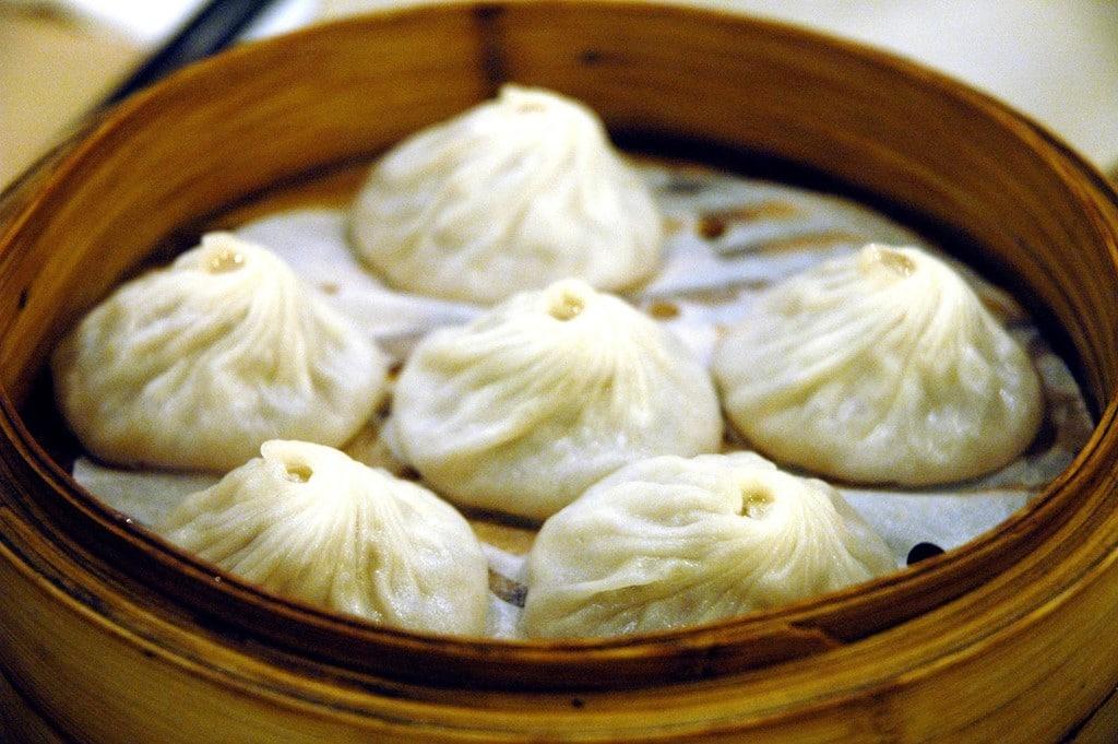 cách làm bánh bao Trung Quốc