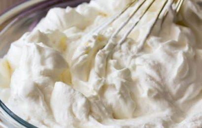 Cách làm kem whipping cream tại nhà đơn giản