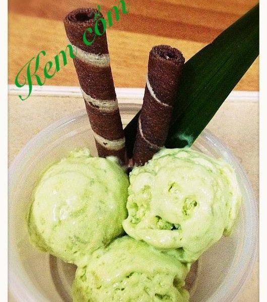 Hướng dẫn cách làm kem cốm dừa thơm ngon, bổ dưỡng